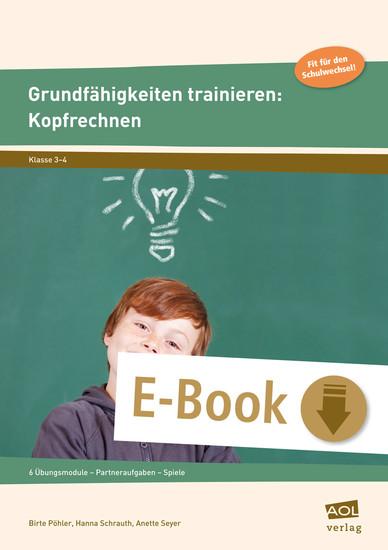 Grundfähigkeiten trainieren: Kopfrechnen - Blick ins Buch