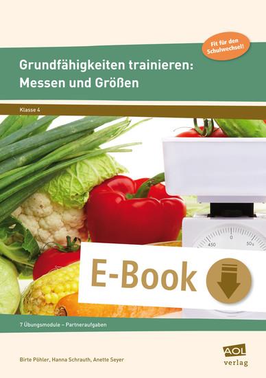 Grundfähigkeiten trainieren: Messen und Größen - Blick ins Buch