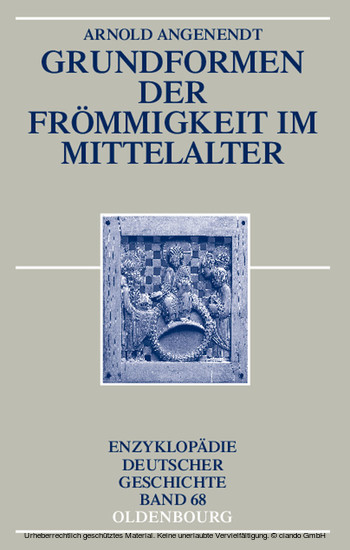 Grundformen der Frömmigkeit im Mittelalter - Blick ins Buch