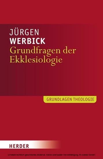 Grundfragen der Ekklesiologie - Blick ins Buch