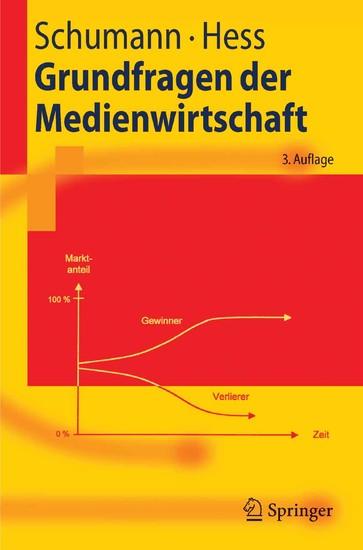 Grundfragen der Medienwirtschaft - Blick ins Buch