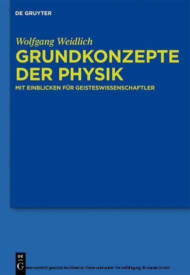 Grundkonzepte der Physik - Blick ins Buch