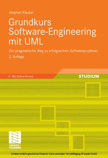 Grundkurs Software-Engineering mit UML - Blick ins Buch
