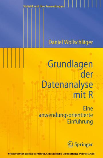 Grundlagen der Datenanalyse mit R - Blick ins Buch