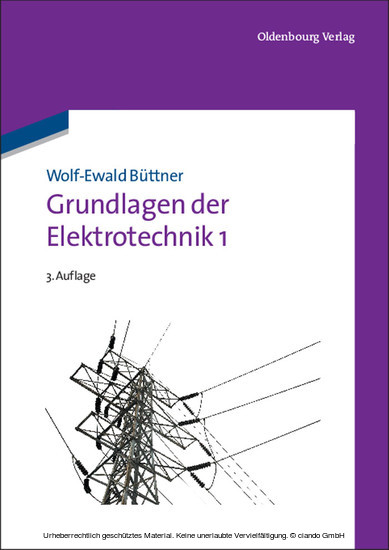 Grundlagen der Elektrotechnik 1 - Blick ins Buch
