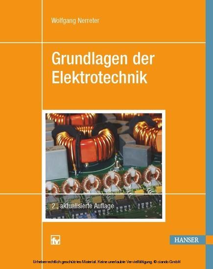 Grundlagen der Elektrotechnik - Blick ins Buch