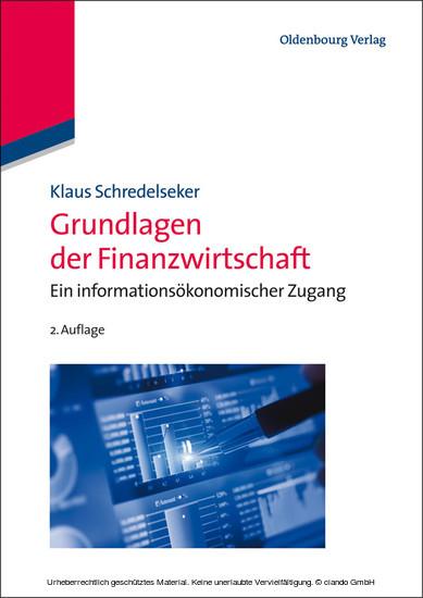 Grundlagen der Finanzwirtschaft - Blick ins Buch
