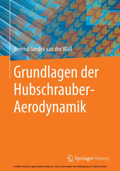 Grundlagen der Hubschrauber-Aerodynamik - Blick ins Buch