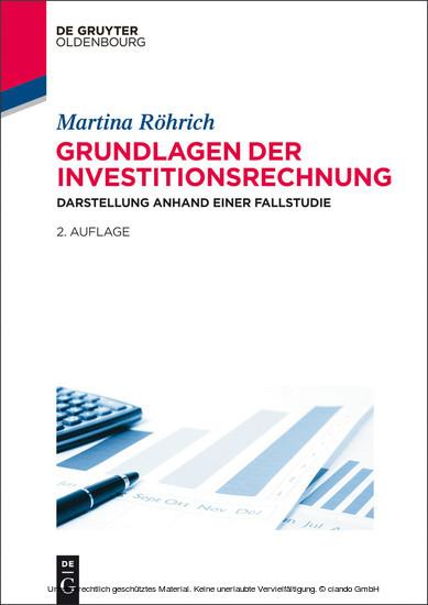 Grundlagen der Investitionsrechnung - Blick ins Buch