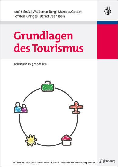 Grundlagen des Tourismus - Blick ins Buch