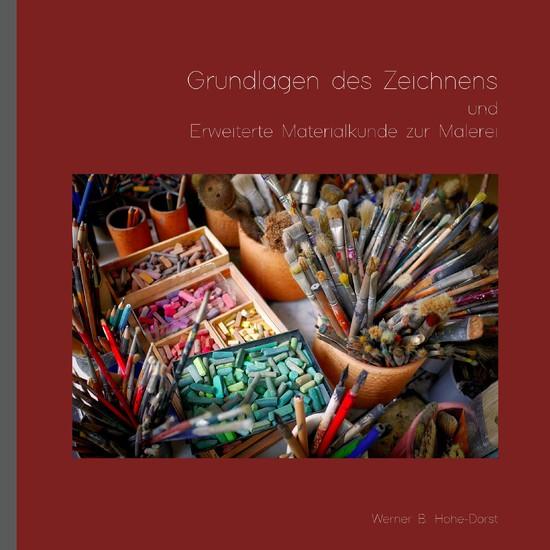 Grundlagen des Zeichnens und Erweiterte Materialkunde zur Malerei - Blick ins Buch