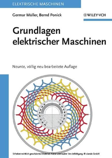 Grundlagen elektrischer Maschinen - Blick ins Buch