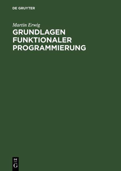 Grundlagen funktionaler Programmierung - Blick ins Buch