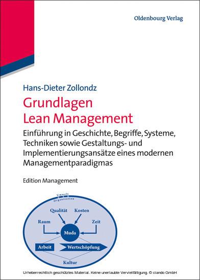 Grundlagen Lean Management - Blick ins Buch