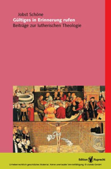 Gültiges in Erinnerung rufen (herausgegeben von Michael Schätzel) - Blick ins Buch