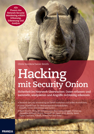 Hacking mit Security Onion - Blick ins Buch