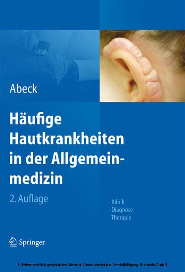 Häufige Hautkrankheiten in der Allgemeinmedizin - Blick ins Buch