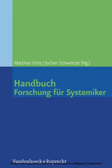 Handbuch Forschung für Systemiker - Blick ins Buch