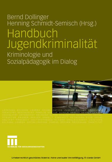 Handbuch Jugendkriminalität - Blick ins Buch