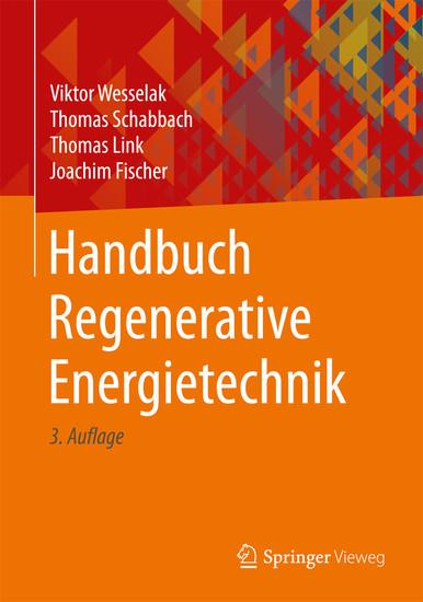 Handbuch Regenerative Energietechnik - Blick ins Buch