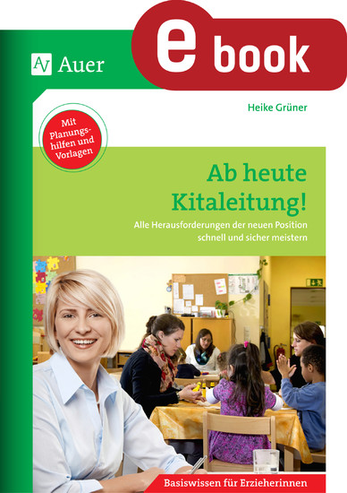 Ab heute Kitaleitung - Blick ins Buch