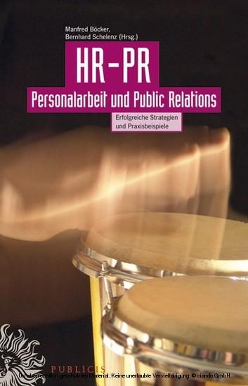 HR-PR Personalarbeit und Public Relations - Blick ins Buch
