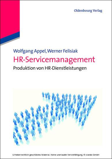 HR-Servicemanagement - Blick ins Buch