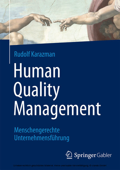 Human Quality Management - Blick ins Buch