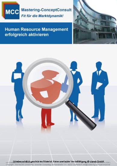 Human Resource Management erfolgreich aktivieren - Blick ins Buch