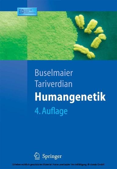 Humangenetik - Blick ins Buch