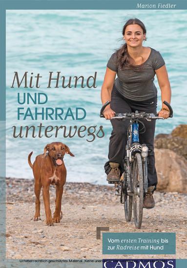 Mit Hund und Fahrrad unterwegs - Blick ins Buch