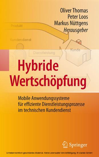 Hybride Wertschöpfung - Blick ins Buch