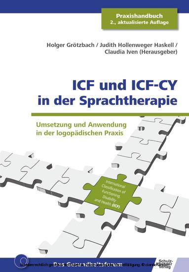 ICF und ICF-CY in der Sprachtherapie - Blick ins Buch