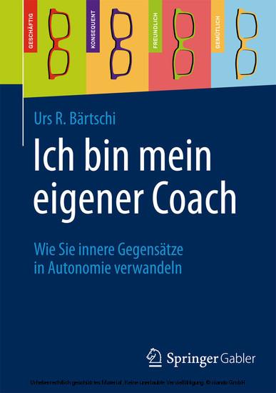 Ich bin mein eigener Coach - Blick ins Buch