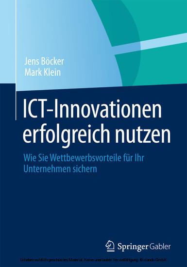 ICT-Innovationen erfolgreich nutzen - Blick ins Buch