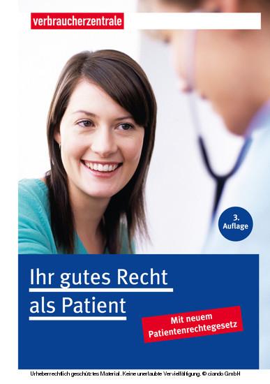 Ihr gutes Recht als Patient - Blick ins Buch