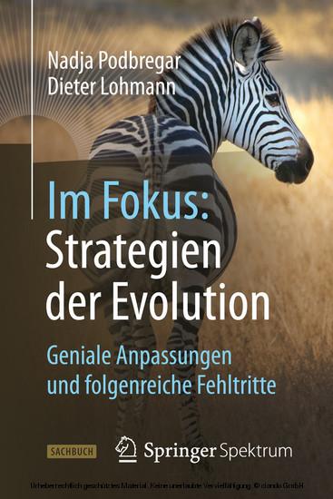Im Fokus: Strategien der Evolution - Blick ins Buch