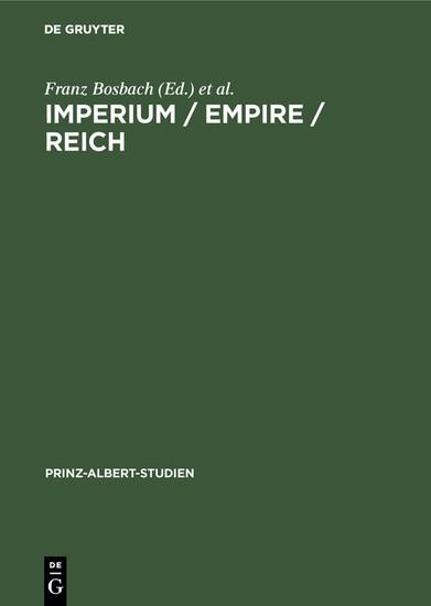 Imperium / Empire / Reich - Blick ins Buch