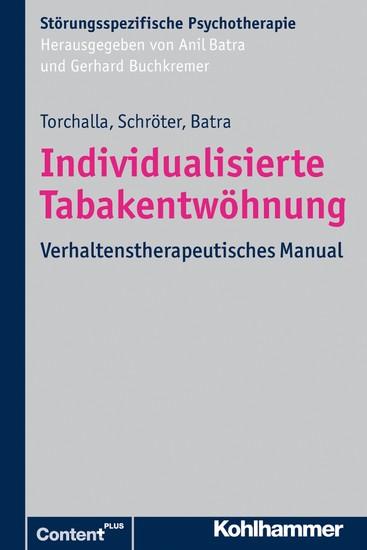 Individualisierte Tabakentwöhnung - Blick ins Buch