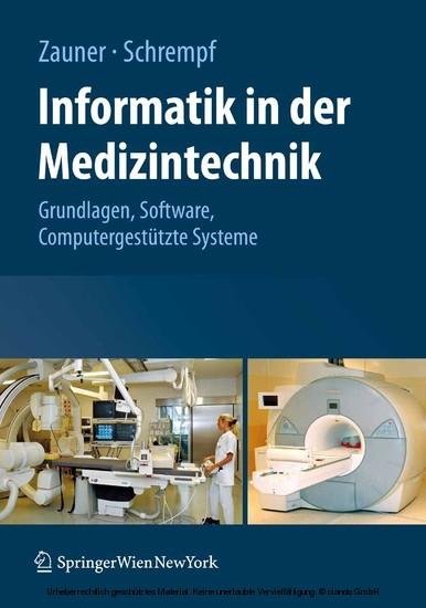 Informatik in der Medizintechnik - Blick ins Buch