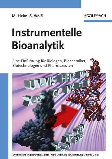 Instrumentelle Bioanalytik - Blick ins Buch