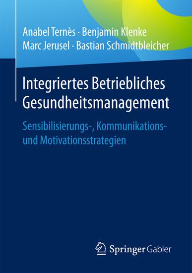 Integriertes Betriebliches Gesundheitsmanagement - Blick ins Buch