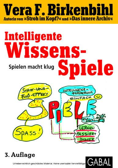 Intelligente Wissens-Spiele - Blick ins Buch