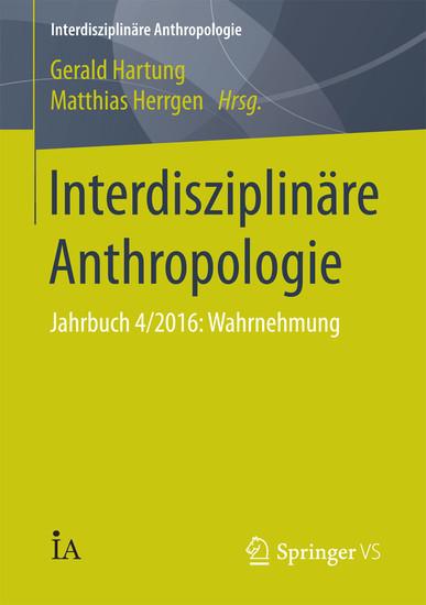 Interdisziplinäre Anthropologie - Blick ins Buch