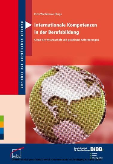 Internationale Kompetenzen in der Berufsbildung - Blick ins Buch