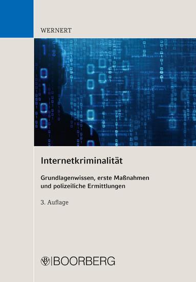 Internetkriminalität - Blick ins Buch