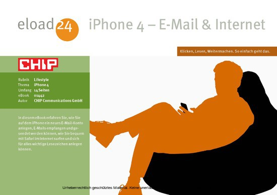 iPhone - E-Mail - Internet - Blick ins Buch