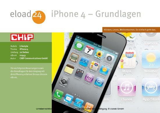 iPhone - Grundlagen - Blick ins Buch