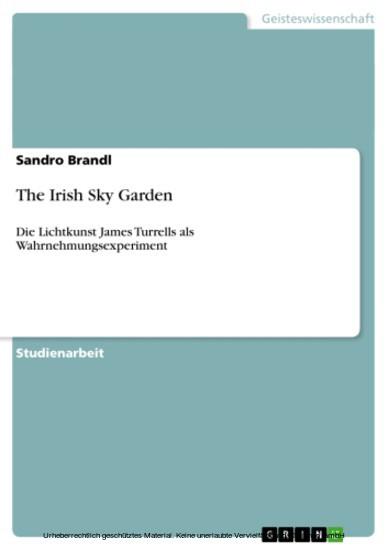 The Irish Sky Garden - Blick ins Buch