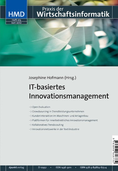 IT-basiertes Innovationsmanagement - Blick ins Buch
